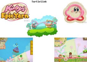 Kirby's Epic Yarn Banner by Turtletish