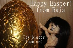 Happy Easter from Raja by Sepseriis