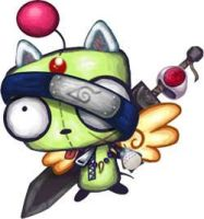 Ninja Moogle GIR by MachinenamedTaku