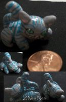 New Cheshire Cat Charm by ElectricDinoSaur