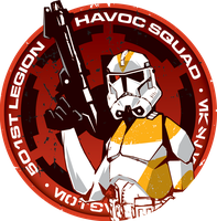 501st Havoc Squad by voya