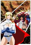 Powergirl - Faces of Darkness by adamantis