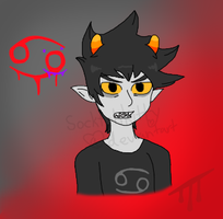 Karkat by Socktehkitty