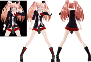 . : RE:EDiT Enoshima Junko Full Body : . by Yuuu-chan