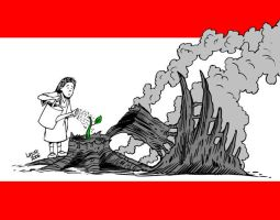 Lebanon will survive by Latuff2