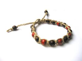 Hemp bracelet mm by aquachild