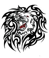 Lion Tribal by weedenstein