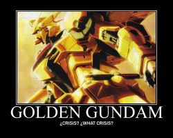 GOLDEN GUNDAM by Varezart