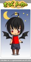 Chibi Maker: Kyo by Shikieiki-Blueberry