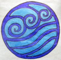 Water Nation Symbol by TifaFan10