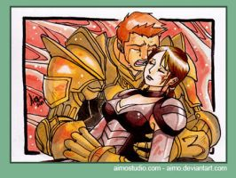 PSC - Alistair and Cousland 12 by aimo