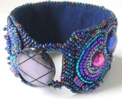 Eclectic cuff 2 by Bev-Choy