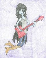 marceline the vampire queen by vampiricdemoncutie