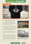 Photography-Blog Layout Design by mondscheinsonate