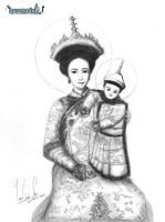 Mother of God Empress of China by XLordAndyX