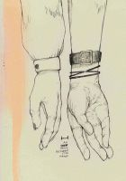 An inch space between our hands by winterlaced