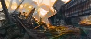 Another destroyed city by noahbradley
