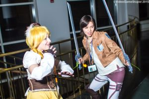 Anime Boston 2015 - Attack on Magica by VideoGameStupid