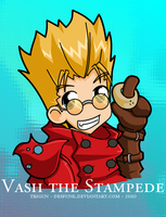 Trigun - Vash by desfunk