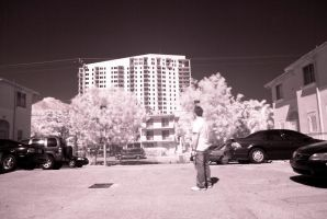 My first Infrared by Solracezz