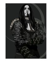 Shagrath by qwijibo