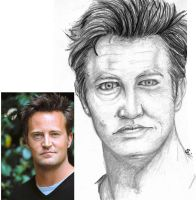 Matthew Perry by FireDestined4