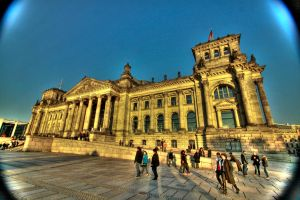 HDR Reichstag Berlin by MrBlueSky1987