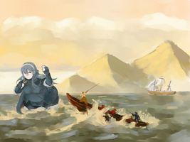 'Whaling for Lucina in the new Fire Emblem mobage' by salting-the-earth