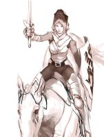 Female Cavalry by JerryCai