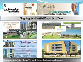 Ongoing Residential Projects in Pune by bubhandarilandmarks
