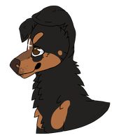 Rottiee Request by glasshyena