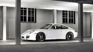 White 911 by AmericanMuscle