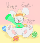 Ace wishes you had a Happy Easter by JBWarrior