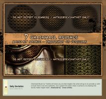 Chainmail Brushset by nathies-stock