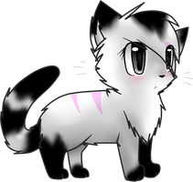 .:ga:. chibi blackstripe by Mindy-cupcake