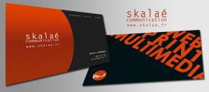Business card Skalae by Netahfr