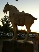 Horse Statue by WDWParksGal