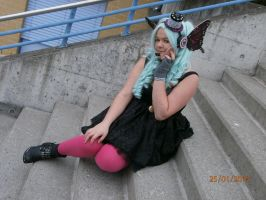 Vocaloid Magnet Cosplay Miku x3 by Taamy-chan