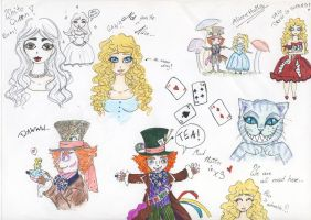 Alice in Doodleland by 16nyu