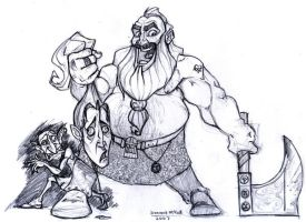 Dwarfs Hate Elves by HamJava