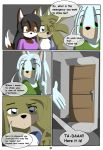 Kyo VS sonic page 3 by DiscoSaeba