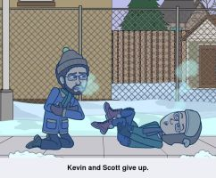 Kevin and Scott Give Up by UKD-DAWG
