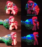 My Puffin Pony Pinkie Pie and Gummy Pipe by Undead by Undead-Art