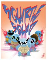 Squirtle Squad by Numb-Numble