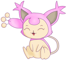 Skitty by NathalyRoot