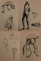 Figure Drawing 2013-01-23 by cmbarnes