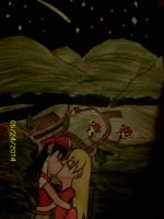 (Request Commission) Starry Night Kiss by Kogalover4ever