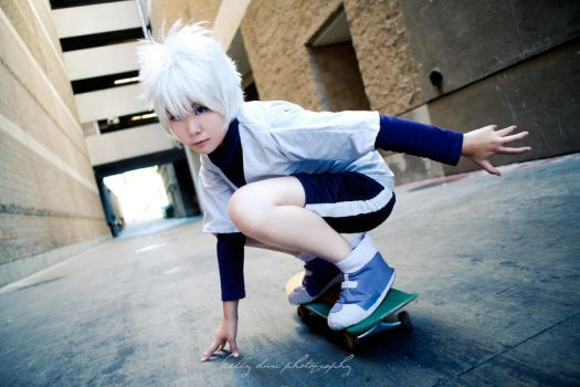 Ore, Killua. by HetChrome