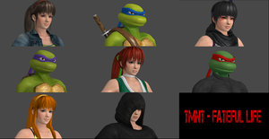 TMNT - Fateful Life - Story Select by SilverMoonCrystal