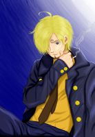 Moonlit Sanji by tiffany42